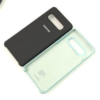 Клип-кейс Silicone Cover для Samsung Galaxy S10 Plus, черный